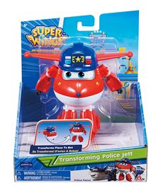 Police jett figura transformable superwings - 05600888