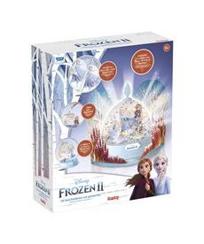 Frozen ii light-up glitter globe - 23325013