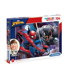 Puzzle 104 spiderman - 06620148