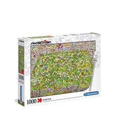Puzzle 1000 piezas mordillo the match - 06639537