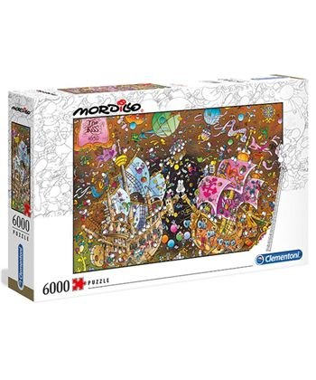 Puzzle 6000 mordillo the kiss - 06636527
