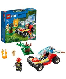 Incendio en el bosque lego city