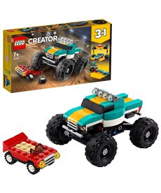 Monster truck lego creator