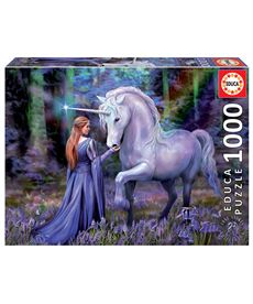 Puzzle 1000 bluebell woods anne stokes - 04018494