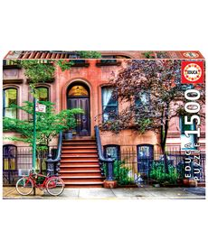 Puzzle 1500 greenwich village, nueva york - 04018502