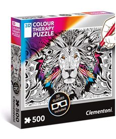 Puzzle 500 lion therapy - 06635051