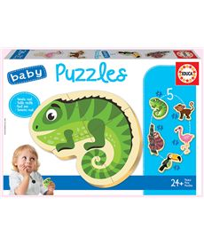 Puzzle animales tropicales - 04018587