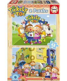 Puzzle 2x48 tickety toc - 04015941