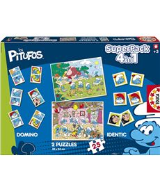 Superpack pitufos - 04015714