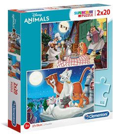 Puzzle 2x20 disney animal friends - 06624764