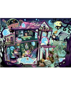 Puzzle 100 ghost house myst.puzz.jr. - 04018611