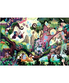Puzzle 200 magic forest myst.puzz.jr. - 04018612
