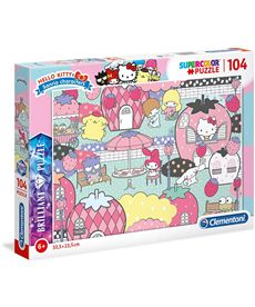 Puzzle 104 brilliant hello kitty - 06620172