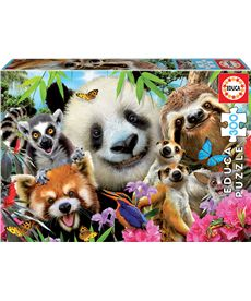 Puzzle 300 black-eyed friends selfie* - 04018610