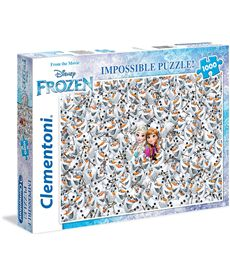 Puzzle 1000 imposible frozen - 06639360