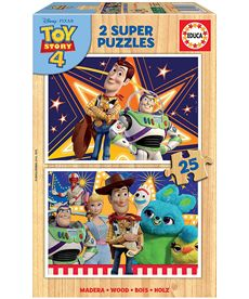 Puzzle 2x25 toy story - 04018083