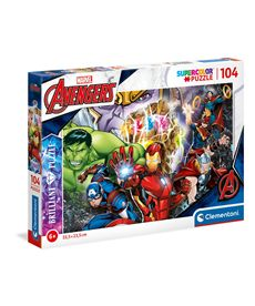 Puzzle 104 marvel brillant - 06620181
