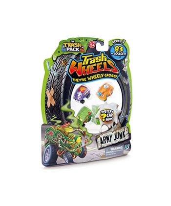 Trash wheelies blister 4 vehiculos - 23468140