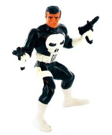 Figura pvc 10 cm. super heroes punisher - 07396010