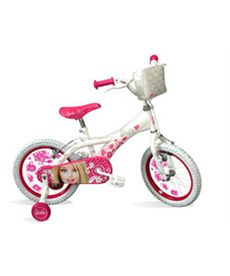 "Bicicleta 16"" barbie diamantes - 32099084"