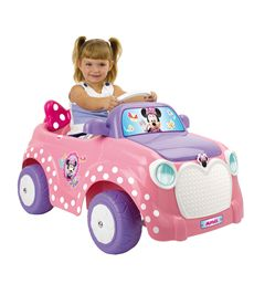 Minnie car 6 voltios feber