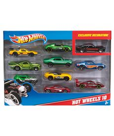 Pack 10 vehiculos hot wheels - 24554886