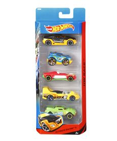 Pack de 5 vehiculos hot wheels - 24501806