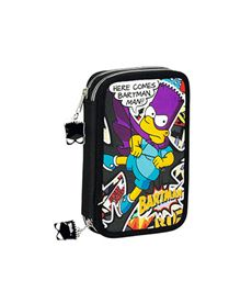 Plumier doble pequeño the simpsons - 79117881